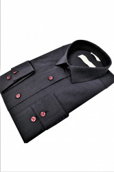 camasa slim fit neagra