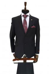 Costum clasic, negru talia 2 Norman