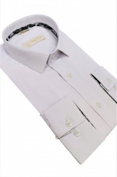 Camasa alba slim fit Massimiliano
