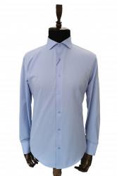 Camasa bleu slim fit