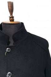 Palton negru barbati