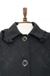 Palton negru femei