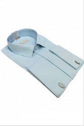 Camasa bleu clasica