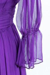 Rochie eleganta din matase naturala