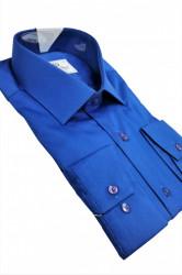 Camasa albastra clasica Leone