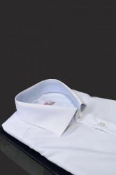 camasa alba slim fit