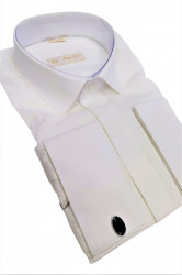 Camasa alba slim fit Marcello