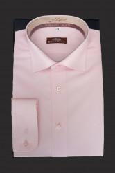 camasa slim fit roz