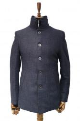 Palton barbati cu guler de blana Ned