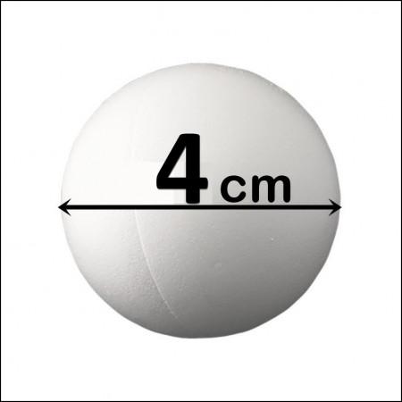 BILA POLISTIREN (diametrul 4 cm)