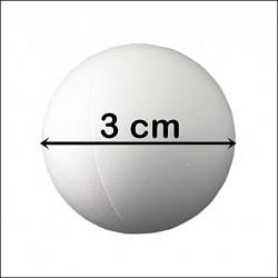 BILA POLISTIREN (diametrul 3 cm)