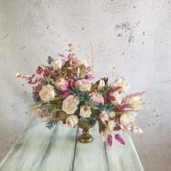 CURS ON-LINE TRANDAFIRUL DAVID AUSTIN (TEMA aranjament floral asimetric)