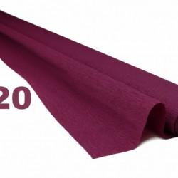 Hârtie creponata 60 g Burgundy Red 320