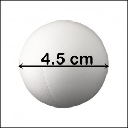 BILA POLISTIREN (diametrul 4.5 cm)