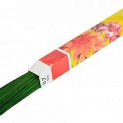 SÂRMA FLORISTICĂ VERDE 0,7 mm (pachet 1Kg)