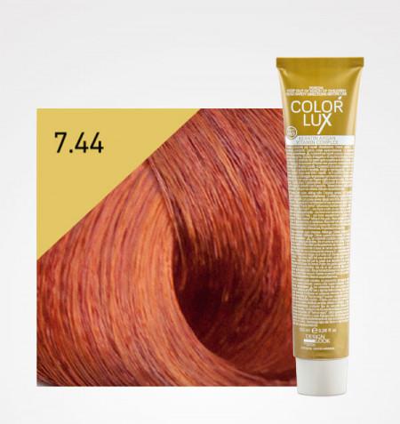Coloração COLOR LUX 7.44 LOIRO COBRE INTENSO 100ML