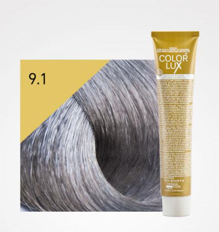 Coloração COLOR LUX 9.1 LOIRO CLARISSIMO CINZA 100ML