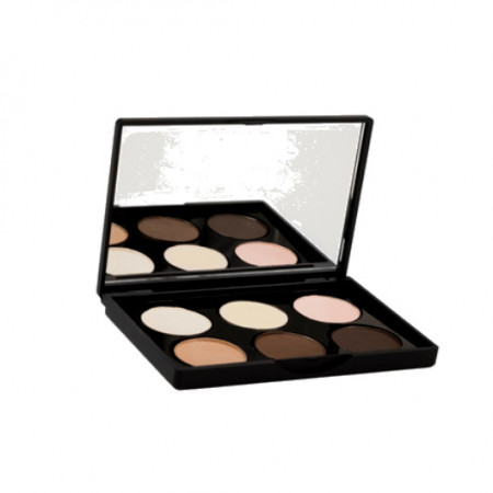 Paleta Sphere Eye 6 tons Nude