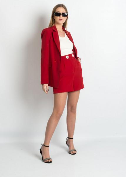 Shorts Imperatriz Vermelho