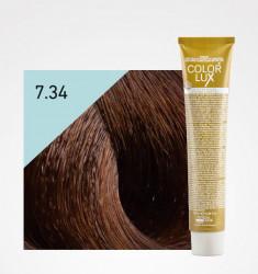 Coloração COLOR LUX 7.34 LOIRO DOURADO COBRE 100ML