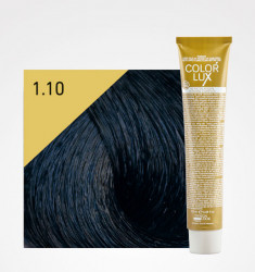 COLORAÇÃO COLOR LUX 1.10 PRETO AZULADO 100ML