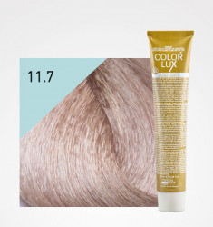 COLORAÇÃO COLOR LUX 11.7 SUPER LOIRO PLATINO IRISADO 100ml