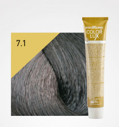Coloração COLOR LUX 7.1 LOIRO ACINZENTADO 100ML