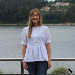 Blusa Maria Blanco