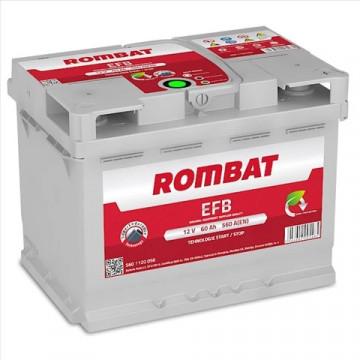 5601120056ROM BATERIE ROMBAT EFB START-STOP 60AH 560A 242X175X190