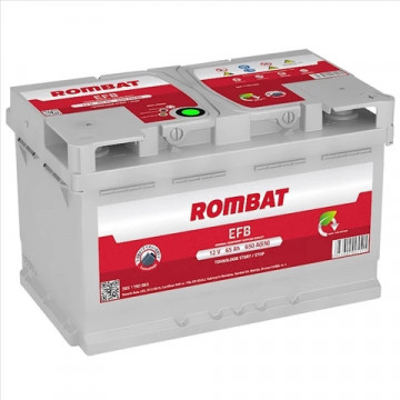 5651190065ROM BATERIE ROMBAT EFB START-STOP 65AH 650A