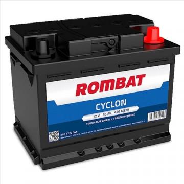 5554720045ROM BATERIE ROMBAT CYCLON 55AH 450A 242X175X190