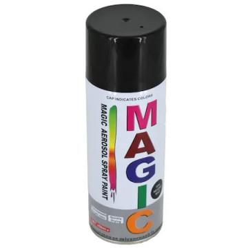 Spray vopsea MAGIC NEGRU LUCIOS 400ml