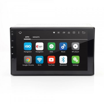 """CARGUARD - Player auto multimedia 2 DIN, cu Touchscreen 7"""", Android 6.0.1"""