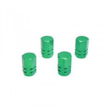 Set 4 capacele ventil tuning verde hexagon , Automax