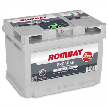 5602380058ROM BATERIE ROMBAT PREMIER 60AH 580A 242X175X175