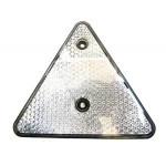 Triunghi alb reflectorizant TR014