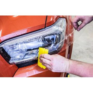 Folie transparenta protectie faruri / stopuri 2 x 30cm ( PRET PE SET )