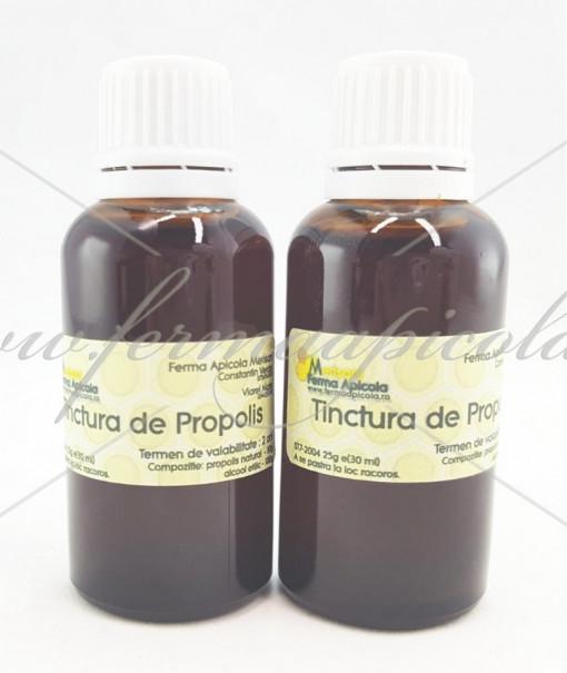 Poze Tinctura de Propolis - 30 ml - cu picurator