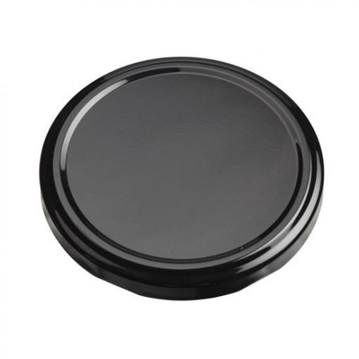 Poze Capac TO82 Twist-Off pt borcan 720 ml (1 kg miere ) - model negru