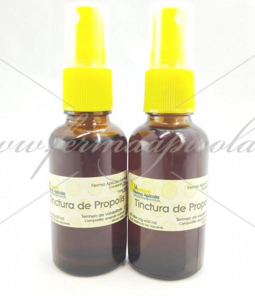 Poze Tinctura de Propolis - 30 ml - cu pulverizator