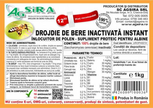 Poze Drojdie de bere inactivata - 1 kg - Agsira