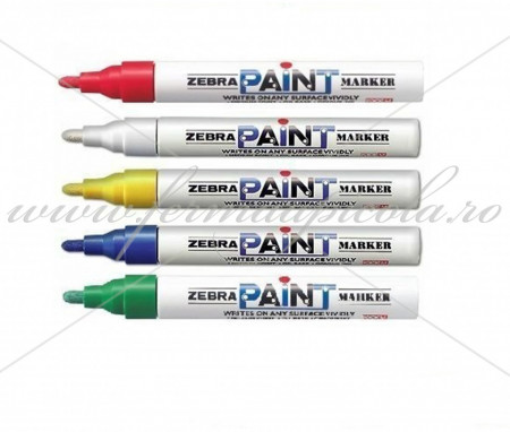 Poze Marker ZEBRA PAINT - set 5 culori