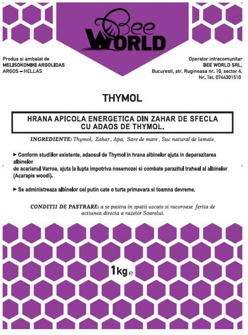 Poze Turta energetica din zahar - Bee World - cu THYMOL