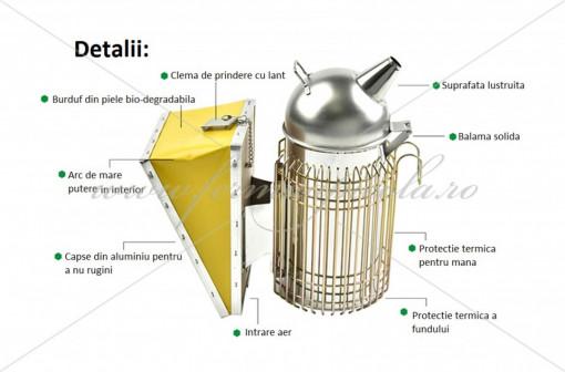Afumator INOX - model european - ULTRA GUARD immagini
