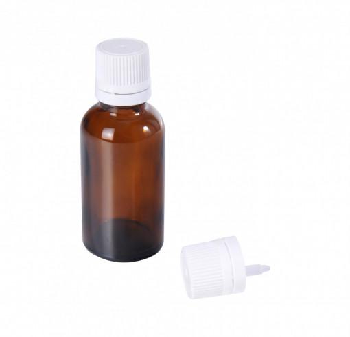 Poze Sticluta - 30 ml - cu dop si picurator