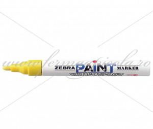 Marker ZEBRA - Paint - Galben (2022 - 2027)