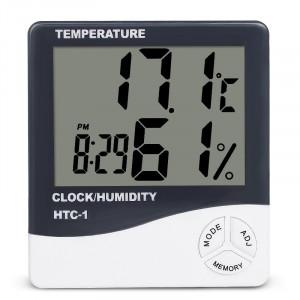 Termometru - higrometru digital de birou