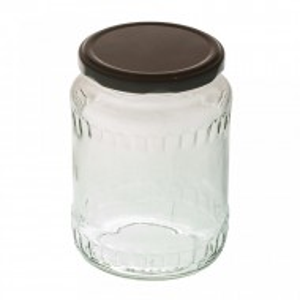 Borcan sticla 720 ml - 1 kg miere - bax 12 buc + capace