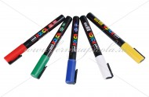 Marker Posca - set 5 culori