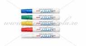 Marker UNI-PAINT - set 5 culori